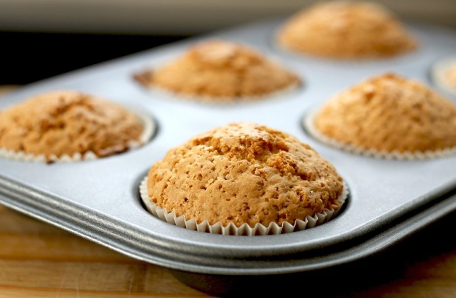 Sweet Delicious Applesauce Muffins