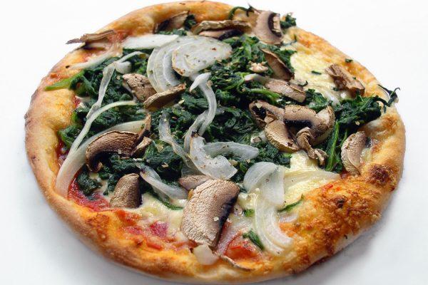 The Best Spinach Artichoke Pizza