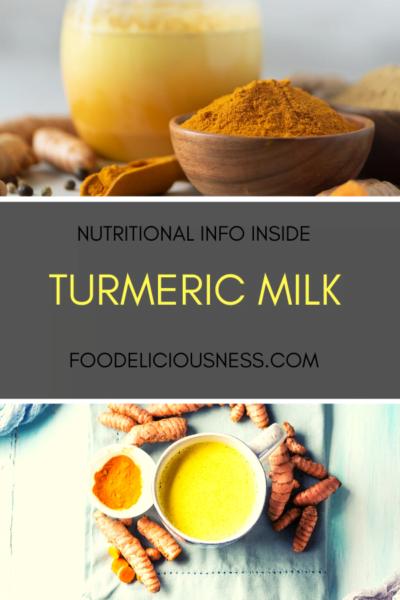 Turmeric Milk pin