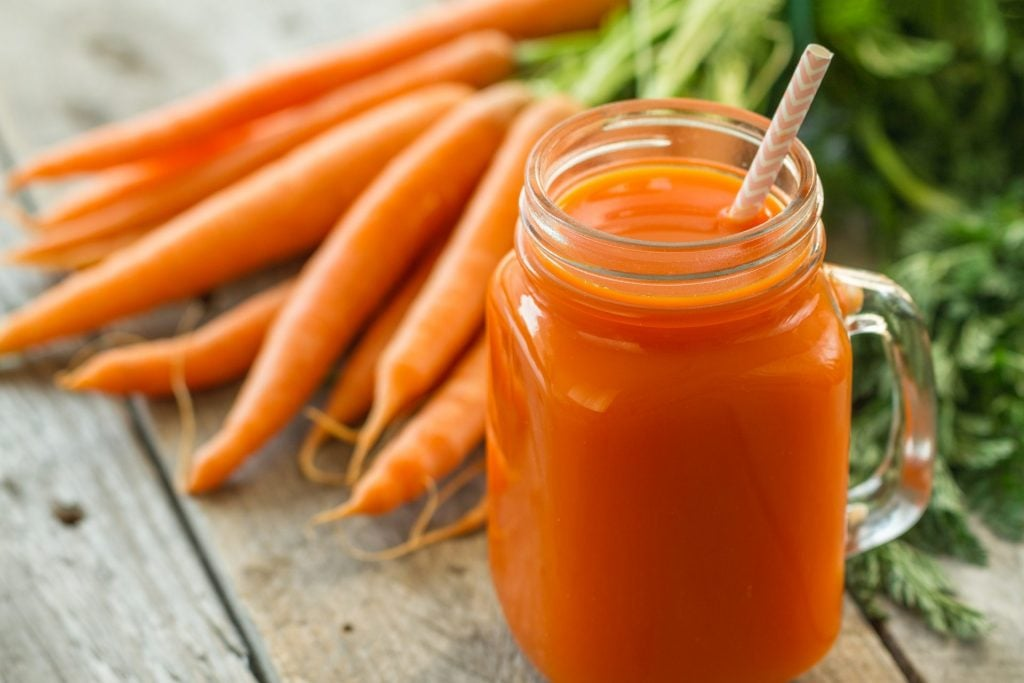 Warm Spicy Apple Carrot Drink
