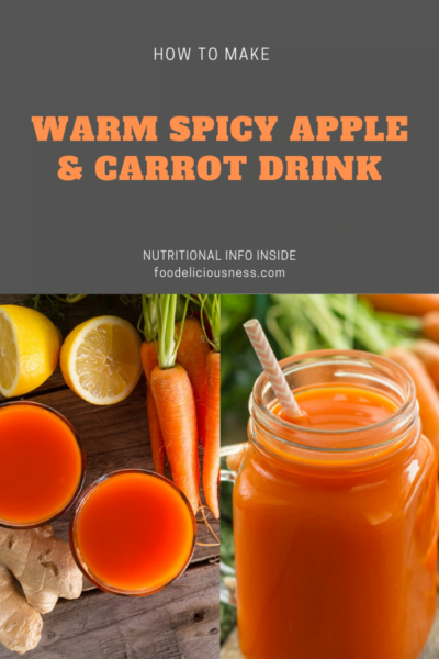 Warm Spicy Apple Carrot Drink pin