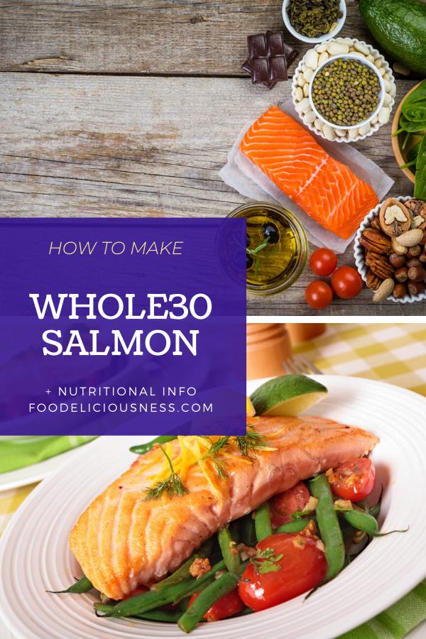 Whole30 Salmon pin