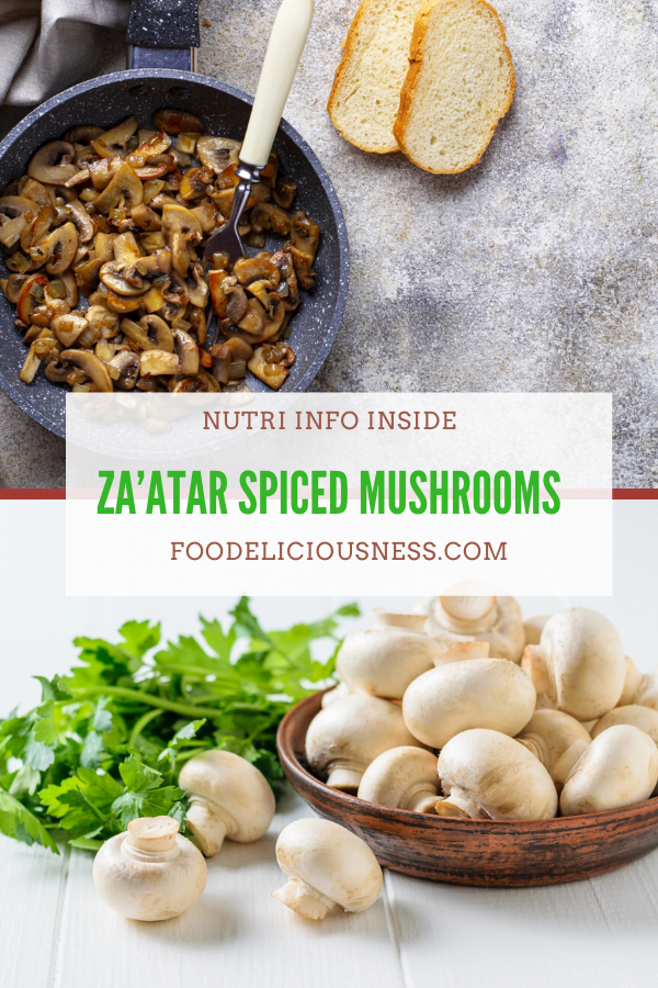 ZA'ATAR SPICED MUSHROOMS
