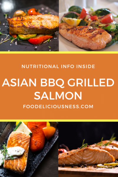 asian bbq grilled salmon