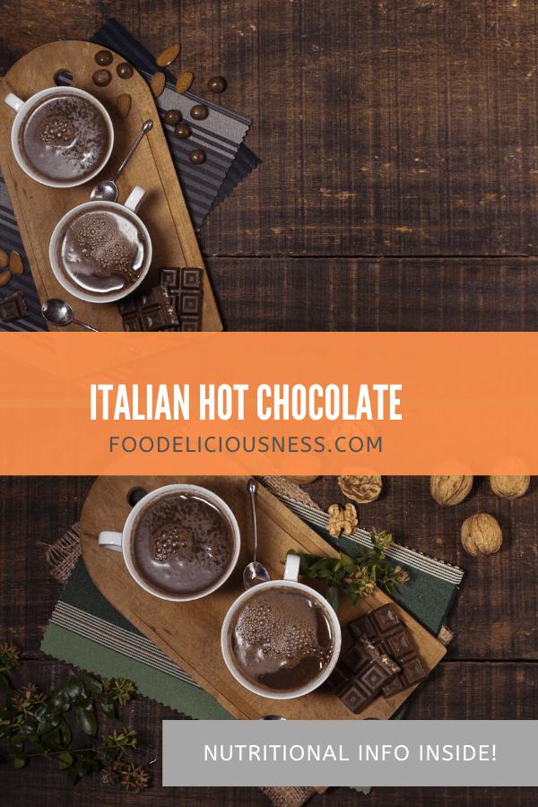 italian hot chocolate pin