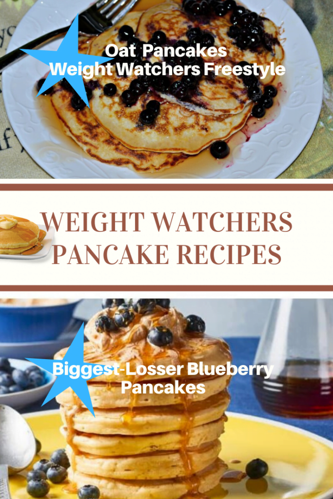 oat pancake weight watchers freestyle and biggest loser blueberry pancakes