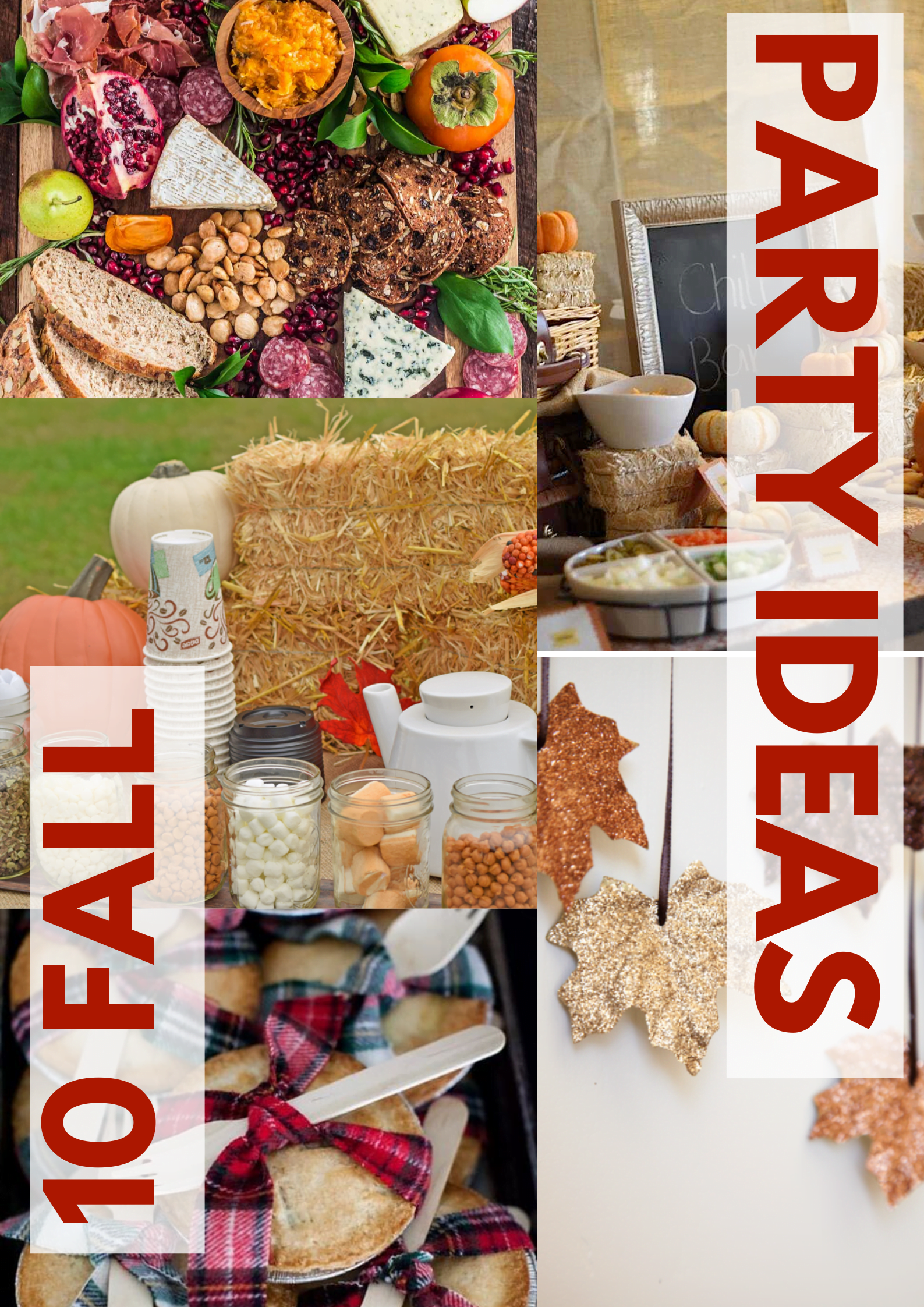 If you are having a party in the fall and are looking for an idea for decoration, we have some great suggestions for you. Have fun with these 10 phenomenal fall party ideas for kids and for adults! #fallpartyideasdecoration #fallpartyideasoutdoor #fallpartyideasforkids @foodeliciousness