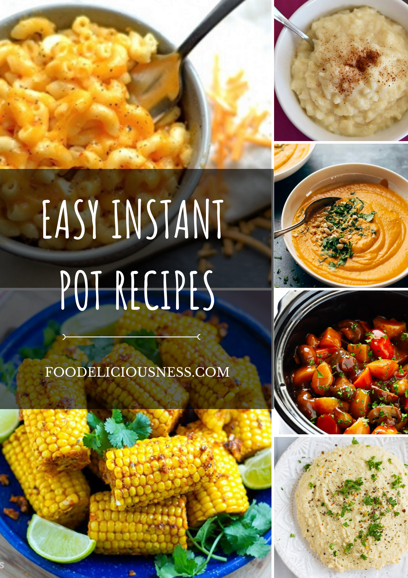 You can be a beginner in cooking or simply look for some easy recipe for dinner. Instant Pot Recipes are perhaps the best solution for you. Whether you make delicious and healthy carrot soup, or light rice dessert you will enjoy a quick and easy way to prepare. #instantpotrecipeseasy #instantpotrecipesforbeginners #instantpotrice #instantpotsoup @foodeliciousness