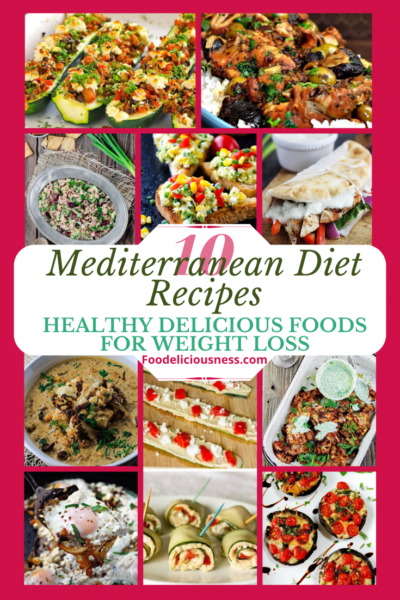 The Mediterranean diet is based on traditional eating habits of people from countries around the Mediterranean Sea. It is characterized by a high intake of plant-based foods and olive oil, a moderate intake of fish and poultry, and low intakes of dairy products, red and processed meats, and sweets, and it has been linked to great health benefits. Thus makes an effective strategy to help manage weight and improve health. #Mediterranean #Mediterraneandiet #Mediterranianrecipes @Foodelici...