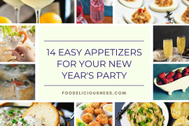 14 Easy Appetizers for your New Years Party