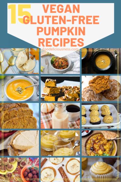 15 Vegan Gluten Free Pumpkin Recipes