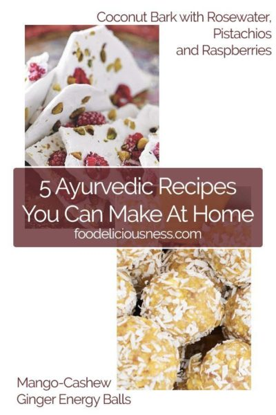 5 Ayurvedic Recipes to do at Home 1