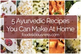 5 Ayurvedic Recipes to do at Home FI