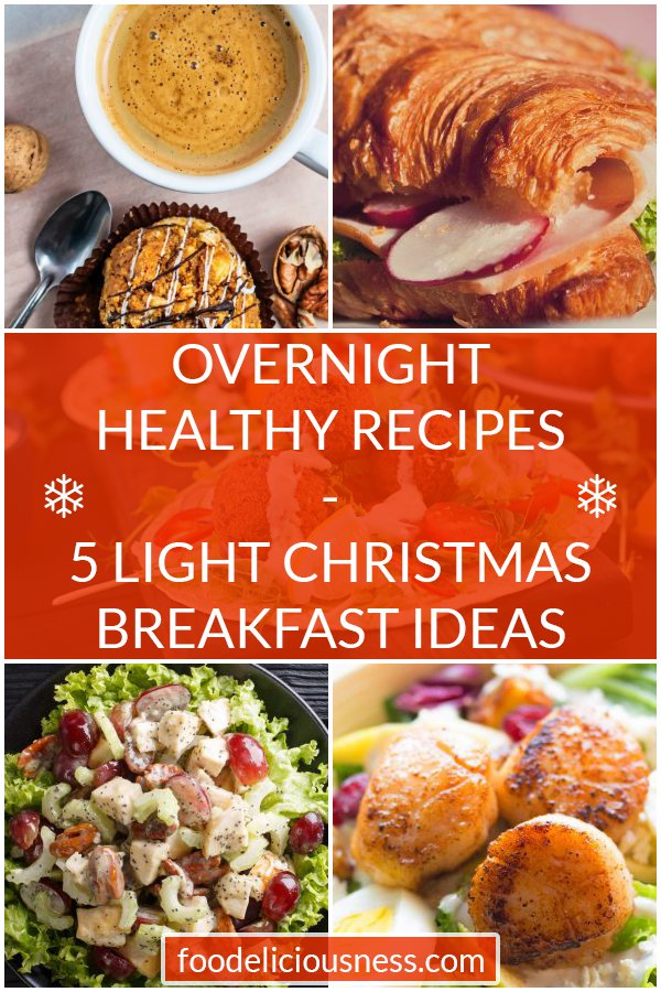 Everyone is talking about this holiday season and what to bring to the table, especially on Christmas!But, since you\'ll probably be getting up early, bright and happy, you\'d want a good meal to start the day, right?How about some light Christmas recipes you can make for breakfast, but prepare them the night before!@foodeliciousness #lightchristmasrecipes #lightchristmasbreakfast #lightbreakfastrecipes #lightbreakfastideas