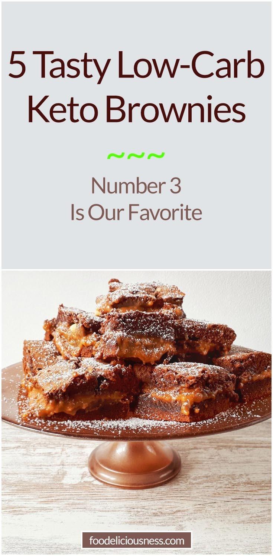 5 Tasty Low Carb Keto Brownie Recipes
