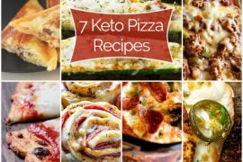7 Keto Pizza Recipes