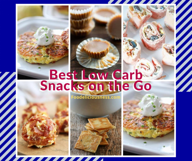 Best Low carb snacks on the go