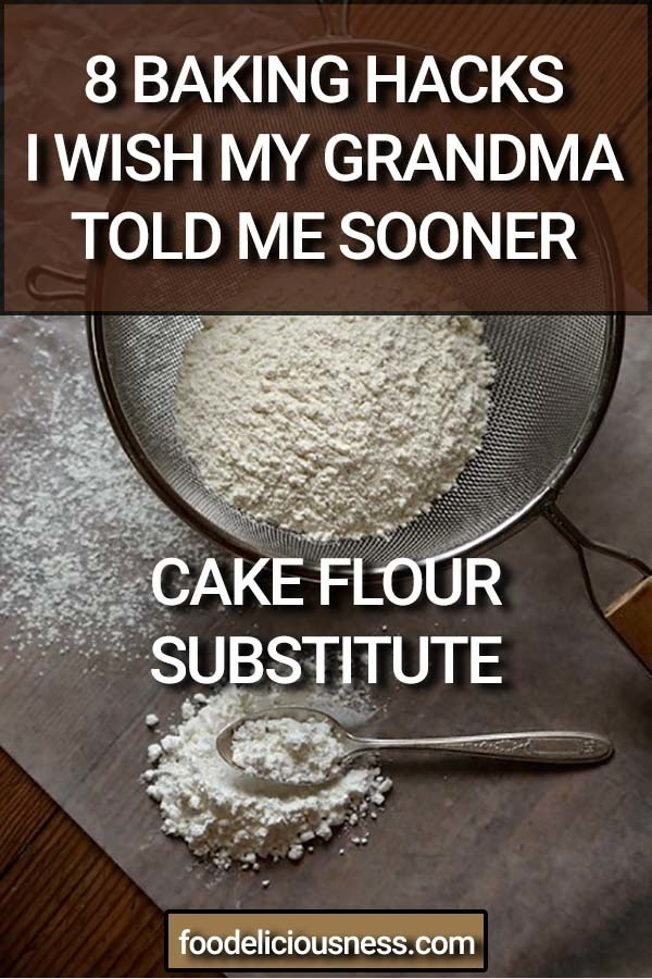 Cake Flour Substitute Pin 1
