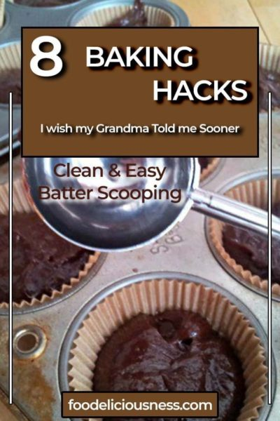 Clean and Easy Batter Scooping