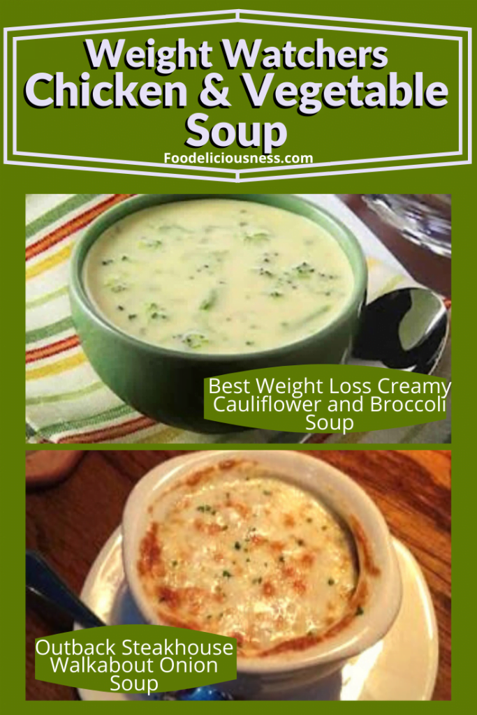 Creamy Cauliflower and Broccoli Soup and Outback Steakhouse Walkabout Onion Soup