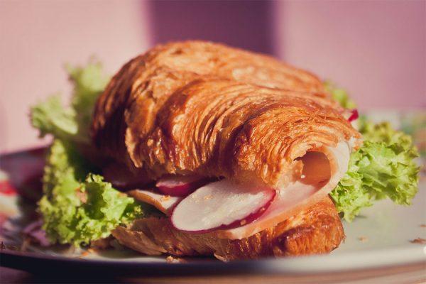 Croissant Sandwiches 600x400