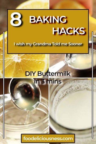 DIY Buttermilk in 3 mins