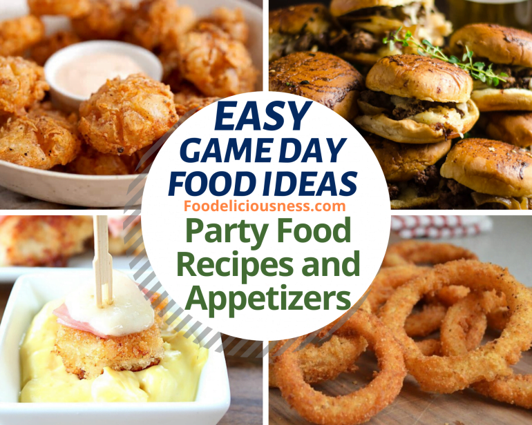 Easy Game Day Food Ideas 1