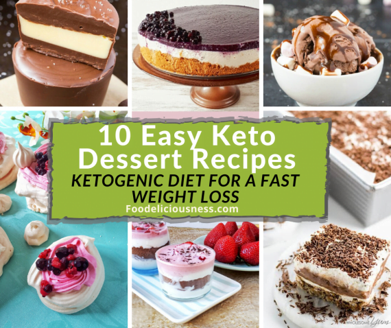 Easy Keto Dessert ReCipes