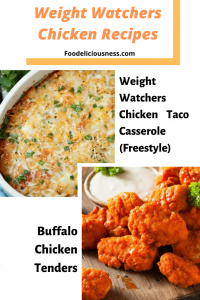 Easy Weight Watchers Chicken Recipes with Points 3