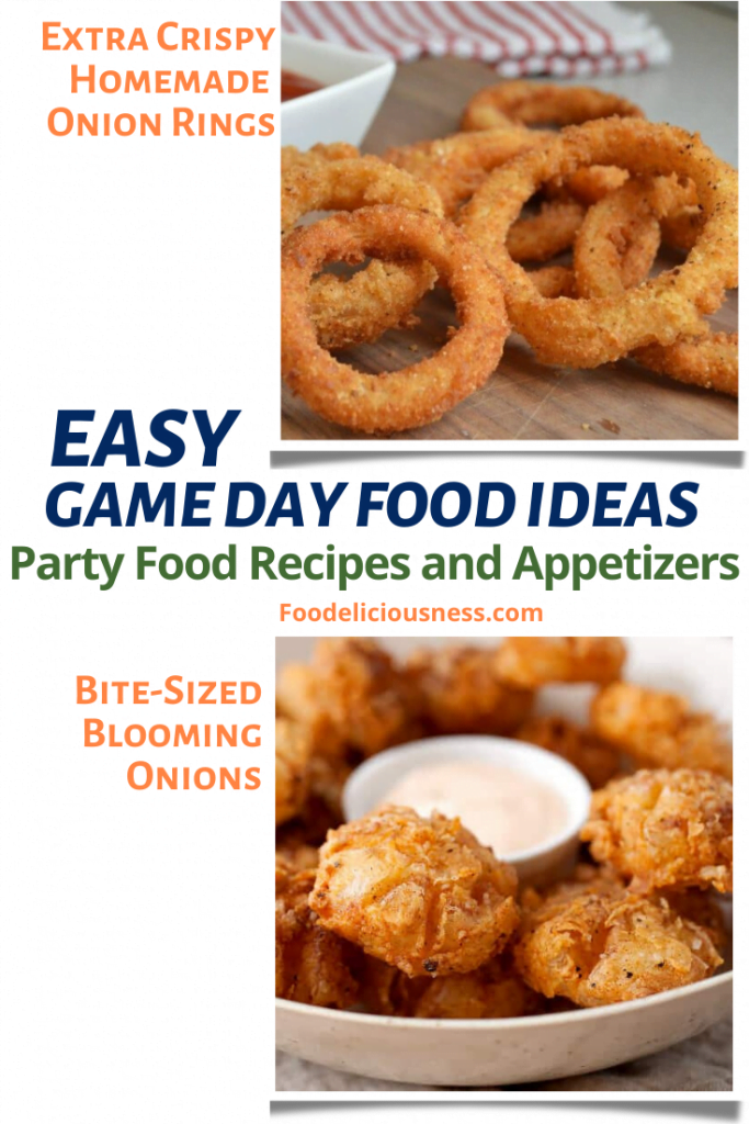 Extra Crispy Homemade Onion rings Bite sized Blooming Onion