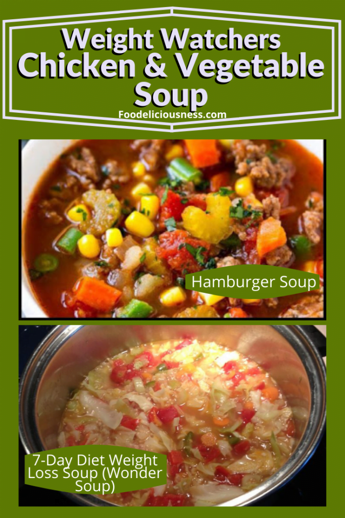 Hamburger soup and 7Day Diet Weight Loss Soup Wonder Soup
