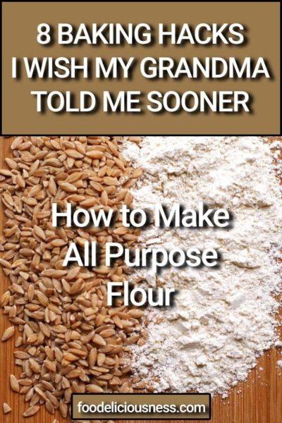 How to Make All Purpose Flour 1