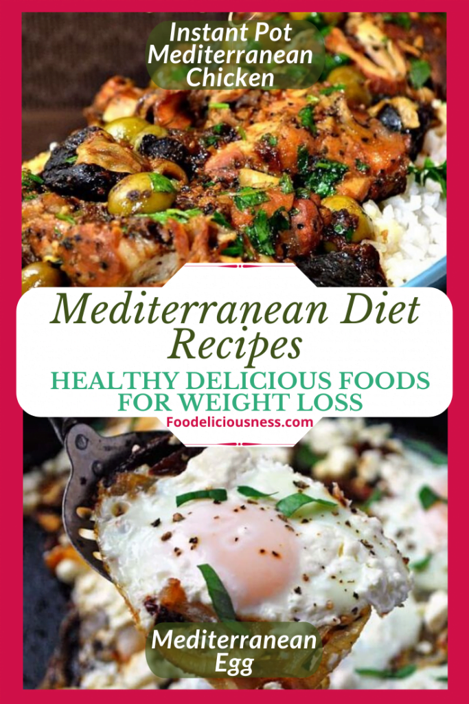 Instant Pot Mediterranean Chicken and Mediterranean Egg