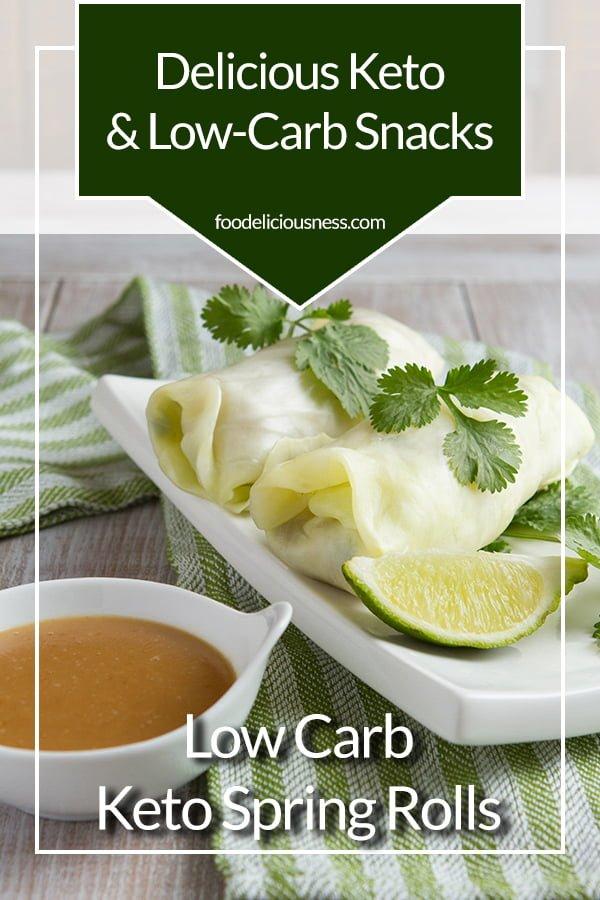 Low Carb Keto Spring Rolls