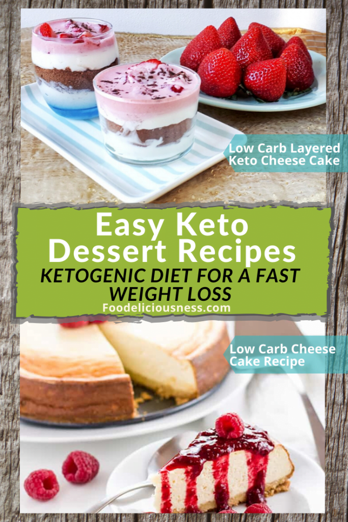 Low Carb Layered Keto Cheesecakes Jars and Low Carb Cheesecake Recipe – Sugar Free Keto Cheesecake 1