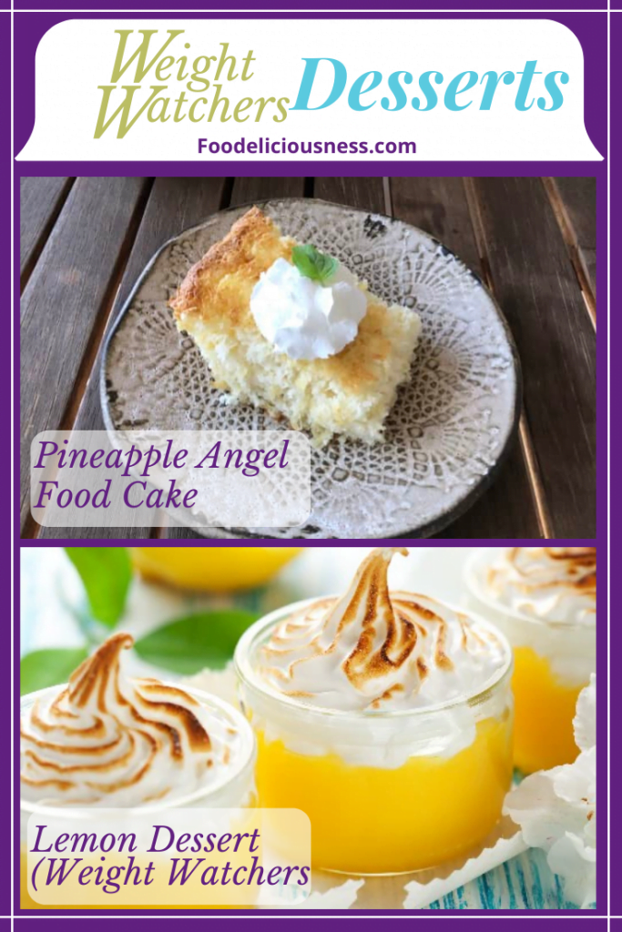 Pineapple Angel Food Cake and Lemon Dessert