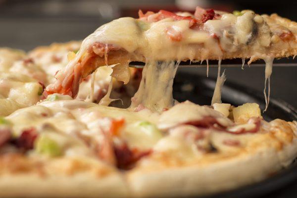 Pizza Style Spaghetti Casserole 600x400