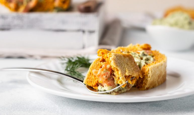 Pumpkin Roulade with Ginger Buttercream 2 770x456