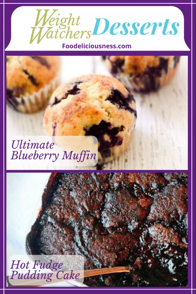 Ultimate Blueberry Muffin and Hot Fudge Pudding Cake