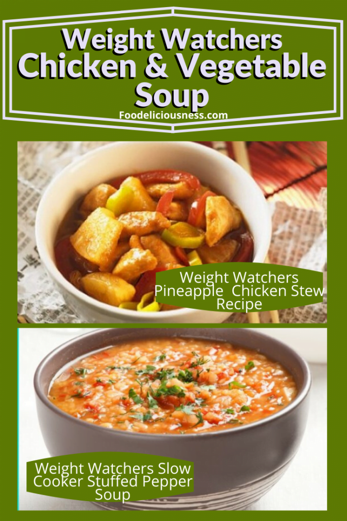 Weight Watchers Pineapple Chicken Stew Recipe and And slow cooker stuffed pepper soup