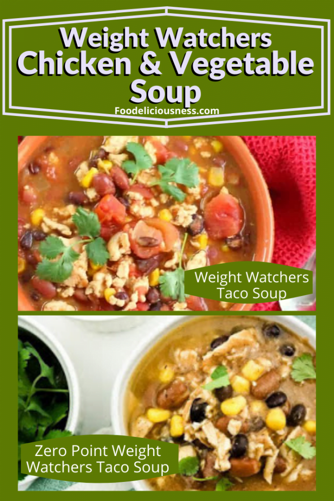 Weight watchers Taco Soup and Zero Point Weight Watchers Taco Soup