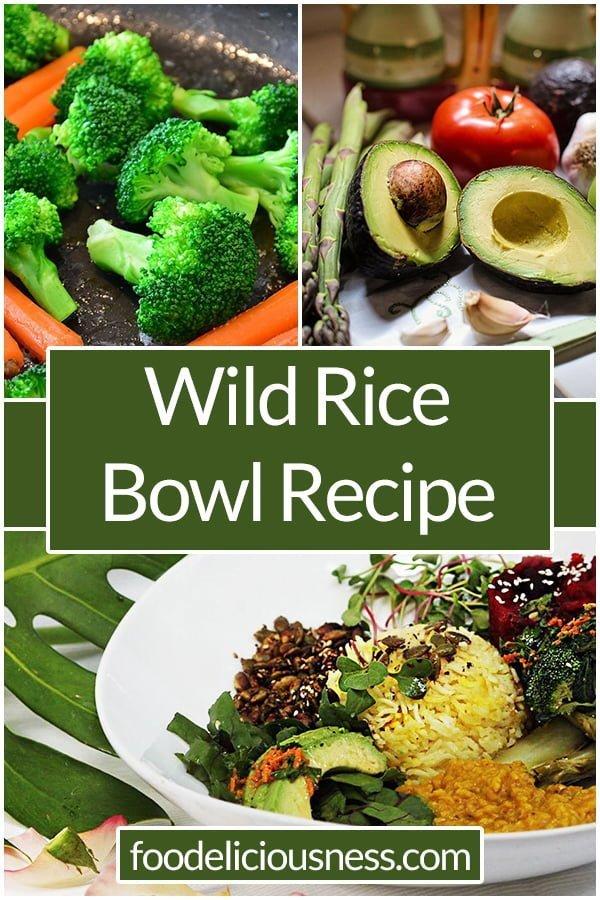 Wild Rice Bowl Ayurvedic Recipe