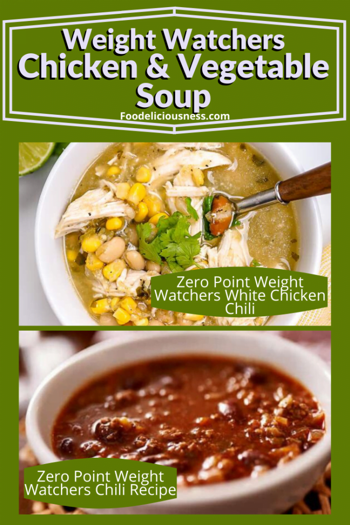 Zero Point Weight Watchers White Chicken Chili and Zero Point Weight Watchers Chili Recipe 1