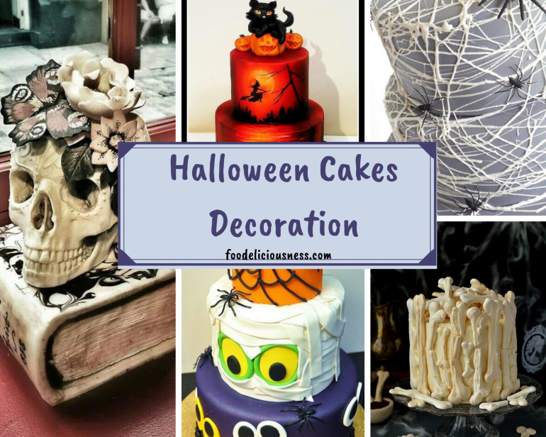 Astonishing Easy Halloween Cakes Decorating Ideas Birthday Cards Printable Trancafe Filternl