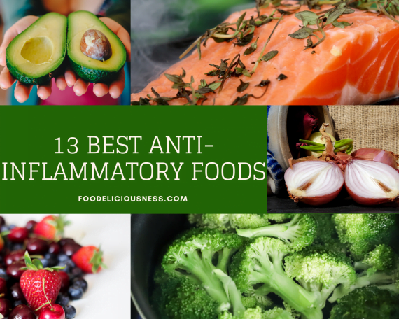 13 Best Anti Inflammatory Foods featured