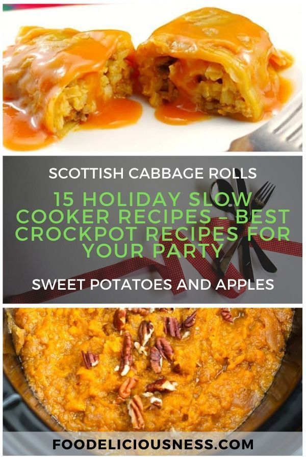 15 Holiday Slow Cooker Recipes – Best Crockpot Recipes for Your Party3