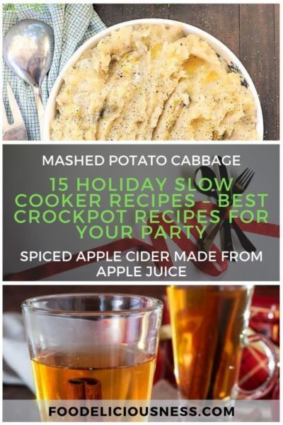 15 Holiday Slow Cooker Recipes – Best Crockpot Recipes for Your Party5