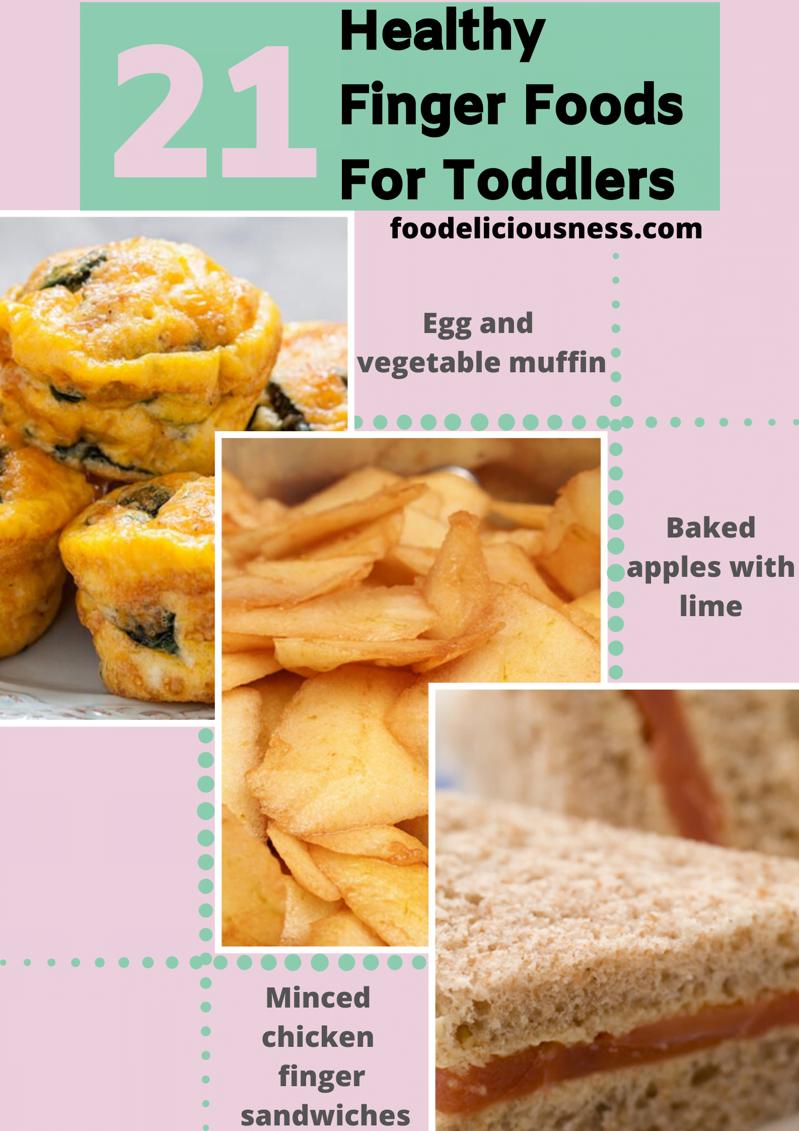 21 healthy finger foods for toddlers 11