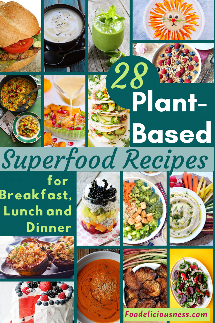 To someone just beginning and wanted to try, a plant-based diet is any diet that focuses on foods derived from plant sources. Certainly, this can include fruit, vegetables, grains, pulses, legumes, nuts and meat substitutes such as soy products. This page will also help you out with the Plant-Based Superfood Recipes for Breakfast, Lunch, and Dinner to get you started. #Plantbaseddiet #plantbasedrecipes #plantbasedveganrecipes @Foodeliciousness