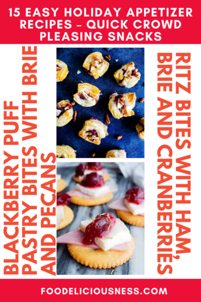5 15 Easy Holiday Appetizer Recipes – Quick Crowd Pleasing Snacks